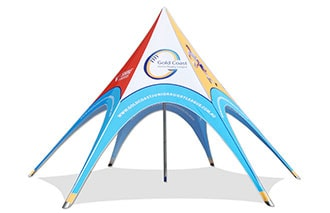 Unique star and arch tents for sale - extreme marquees