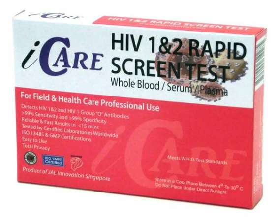 Hiv home test kit - fast & easy to use