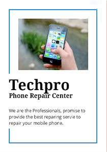 Techpro is a professional platform for digital device repairs.  we have a team of certified, experienced (10years ) engineers who are familiar with theories as well as hardware structure. so their experiences help to find the target issue and repair with c
